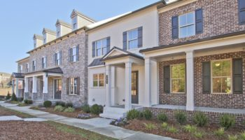 Encore Walk townhomes in Alpharetta