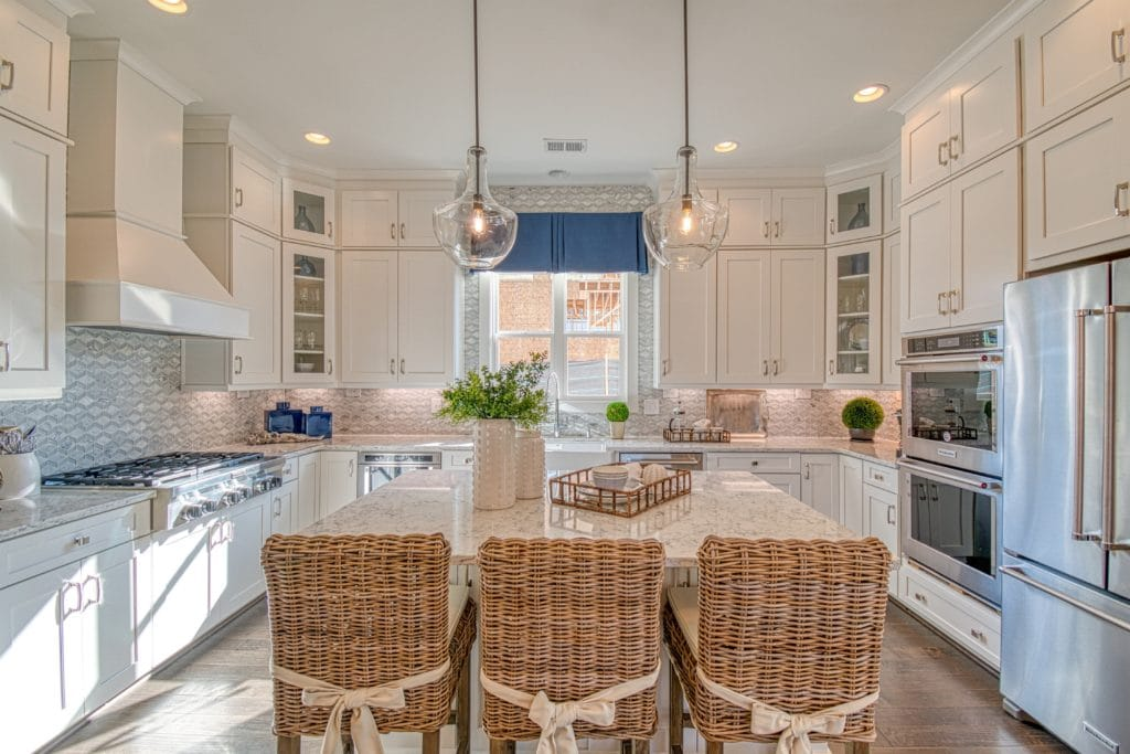 The Grove at Adams Pond Open-concept island kitchen