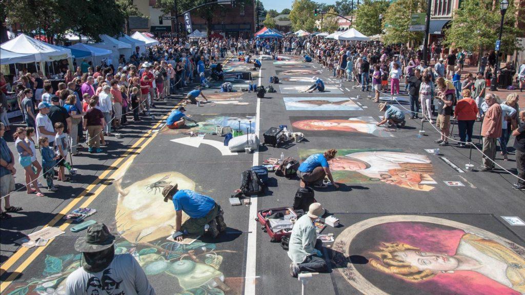 Marietta Square fall event