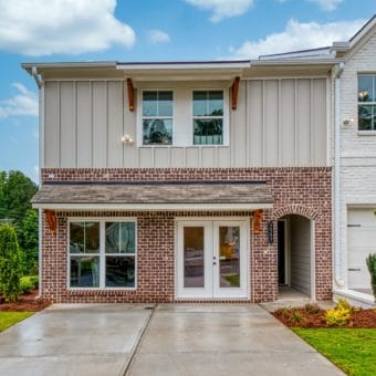Edgemoore at Milford Model Townhome Exterior