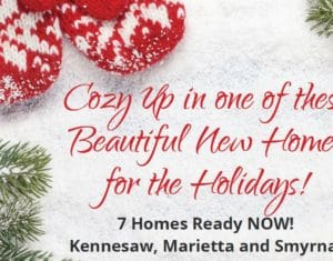 December Quick Move In Homes