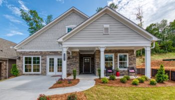 Picture of the Portico Plan at Homesite 27