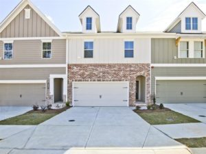 Picture of the Caden Plan townhome