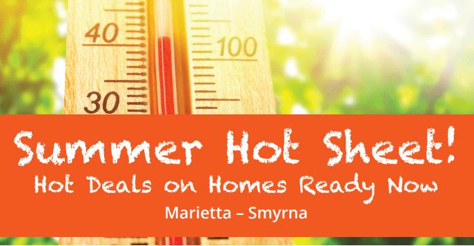 Summer Hot Sheet flyer