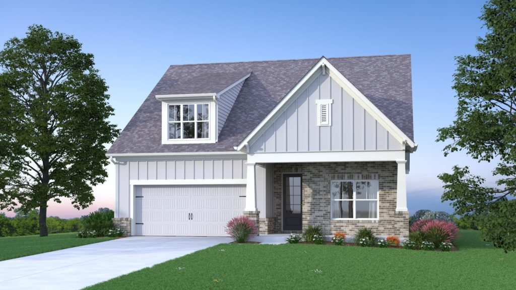 new home at Kirk Ridge in Marietta
