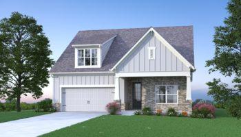 new home at Kirk Ridge in Marietta