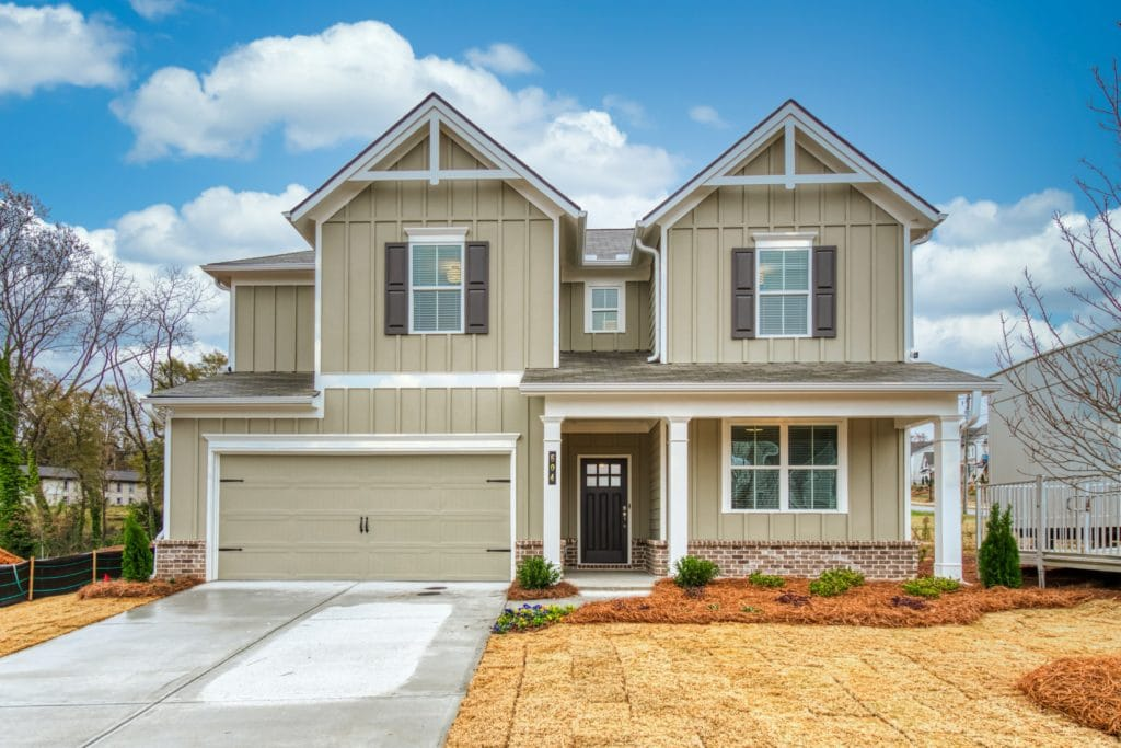 Fulmont Model Home at Logans Walk