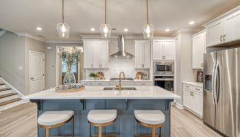 Fulmont model home kitchen