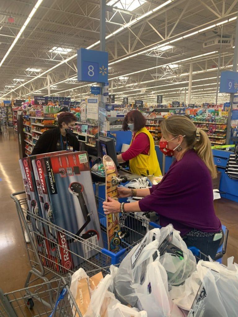 Cobb Christmas shopping
