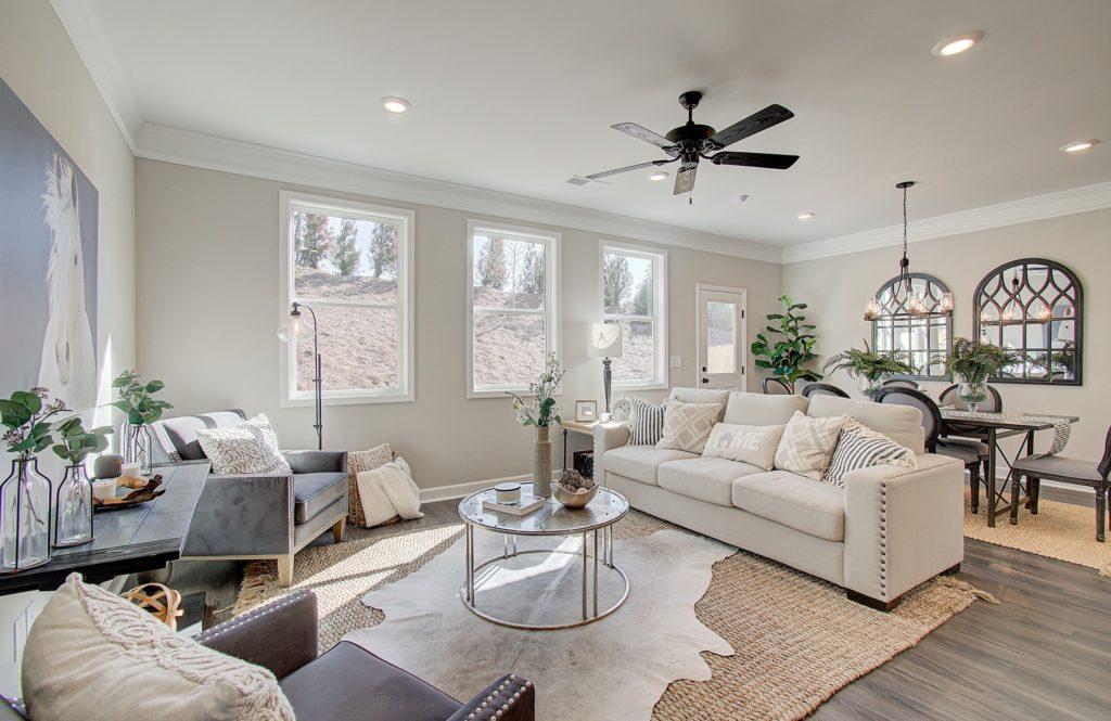 Brooks model home