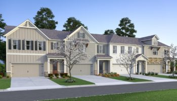 Haven at Stanley townhome rendering