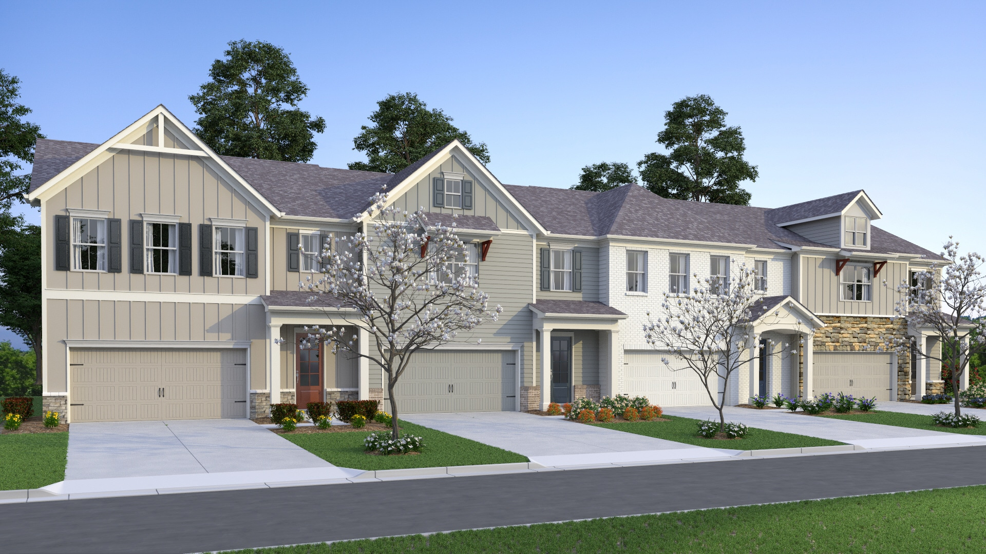 townhome rendering