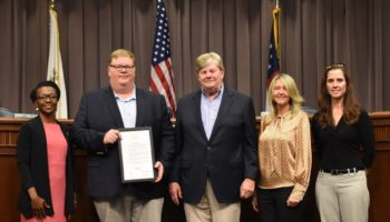 Cobb County Board of Commissioners Recognizing Traton Homes